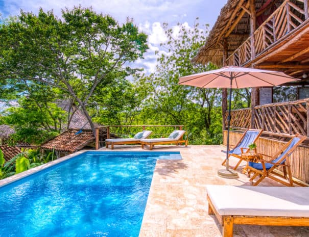 retreat center nicaragua pool