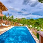 yoga retreat center nicaragua swimming pool